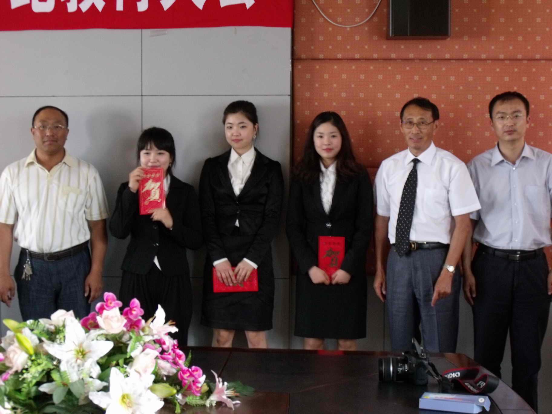 会议由国际文化交流学院教师常利民主持. 田森院长首先致辞.图片